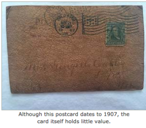 Dear 805 That Stamp May Very Well Be Worth Something