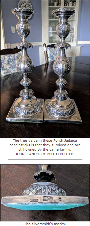 Silver candlesticks' history is golden - Elizabeth Appraisals